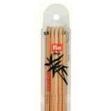 Aiguille tricot 2 pt bambou 20cm n°5,5 - 17