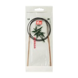 Aiguille circulaire bambou 80cm n°2,5 - 17