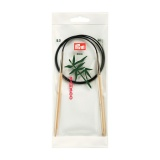 Aiguille circulaire bambou 80cm n°5 - 17