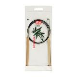 Aiguille circulaire bambou 80cm n°6 - 17