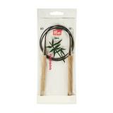 Aiguille circulaire bambou 80cm n°8 - 17