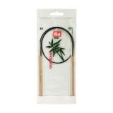 Aiguille circulaire bambou 60cm n°5,5 - 17