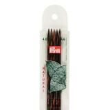 Aiguille tricot 2 pt bois natural 20cm n°4 - 17