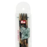 Aiguille tricot 2 pt cubic bois 20cm n°7 - 17