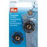 Bouton pression à coudre pour laine 25 mm laiton - 17