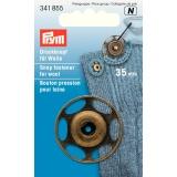 Bouton pression à coudre pour laine 35 mm laiton - 17