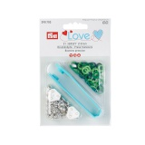 Prym love boutons pression jersey color vert 8 mm - 17