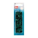 Boutons pression color snaps vert fonce 12,4 mm - 17