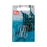 Attache de maillot de bain 25mm transparent - 17