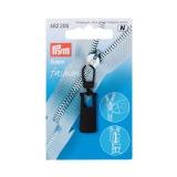 Tirette fashion zipper metal noir - 17