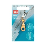 Tirette fashion zipper oeillet doré - 17