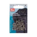 Chainette suspension pour manteaux acier argenté - - 17