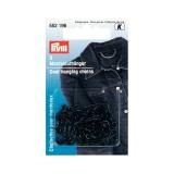 Chainette suspension pour manteaux acier noir r - 17