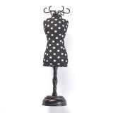 Pelote mannequin polka noir blanc ca 1 - 17