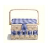 Boîte à couture campagne bleu - 17