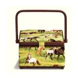 Boîte à couture horses - 17