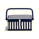 Boîte à couture blue stripes - 17