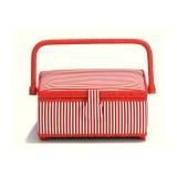 Boîte à couture red stripes - 17