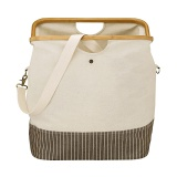 "Sac store & travel ""canevas & bambou"" naturel s - 17"