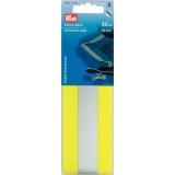 Ruban fluorescent 50 mm adhésif jaune / argent 40  - 17