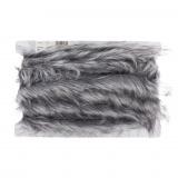 Imitation fourrure 1cm gris - 17
