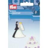 Motif brodé thermocollant mariage - 17