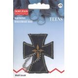 Motif brode croix avec chaine - 17