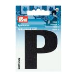 Motif brode lettre p noir - 17