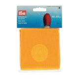 Tissu de base pour espadrille 40x55 cm jaune - 17