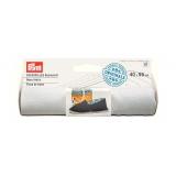 Tissu de base pour espadrille 40x55 cm blanc - 17