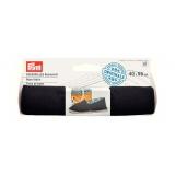 Tissu de base pour espadrille 40x55 cm noir - 17