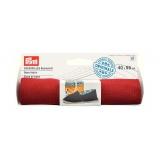Tissu de base pour espadrille 40x55 cm rouge - 17