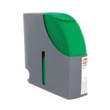 Ceinture élastique 38mm vert 10m - 17