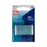 Fil à coudre élastique 0,5mm bleu 20 m - 17