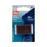 Fil à coudre élastique 0,5mm brun 20 m - 17