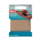 Corde élastique 1,5mm beige clair (3m) - 17