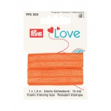 Prym love passepoil élastique 15mm orange 1,5m - 17