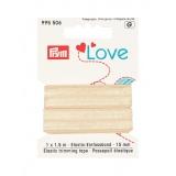 Prym love passepoil élastique 15mm beige 1,5m - 17