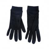 Sous-gants 100% soie - t. 7 noir - 171