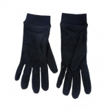 Sous-gants 100% soie - t. 8 noir - 171