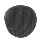 Casquette plate 80% laine t.55 gris - 171