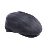 Casquette plate 80% laine t.61 gris foncé - 171