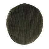 Casquette plate velours 100% coton t.55 kaki - 171