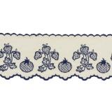 Bande 8cm fraise bleu - 181
