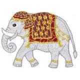 Thermocollant par 2 : éléphant 7,5 x 5 - 19