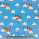Tissu imperméable nuages - 195