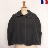Cape laine acrylique t.u gris - 2