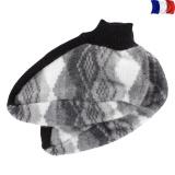 Chausson 100% acrylique gris - 2