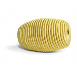 Perle cordelière olive jaune 10/25mm - 21