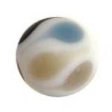 Perle tachetée bleu 15mm - 21